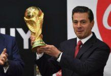 La Copa del Mundo visita México antes de irse a Rusia