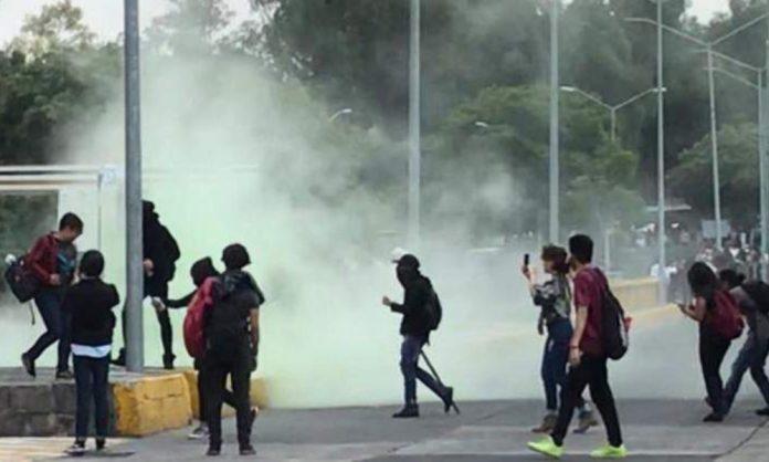 Levanta UNAM actas contra responsables de vandalismo en Rectoría