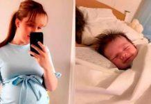 Bebé se despide con una sonrisa de su mamá fallecida durante el parto